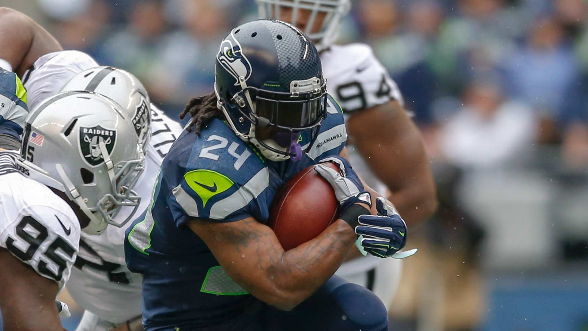 Patriots have amusing condition regarding Marshawn Lynch