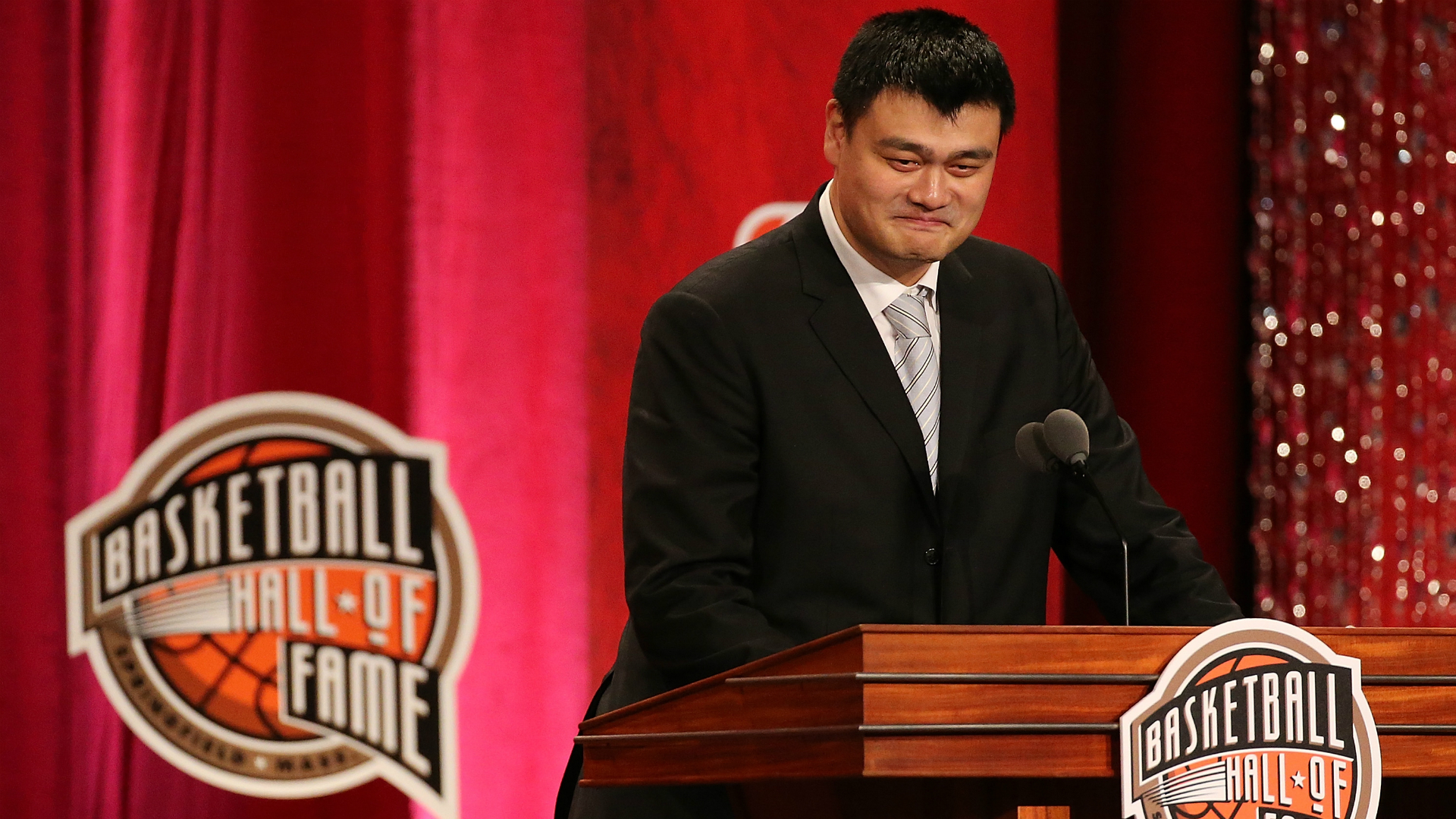 Yao Ming made the perfect Allen Iverson 'practice' joke in his Hall of Fame speech   NBA ...