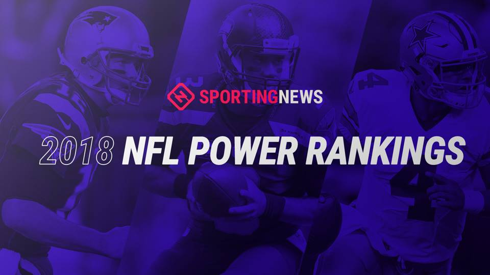 ac46610beac NFL Power Rankings  Where each team stands going into 2018 NFL Draft ...