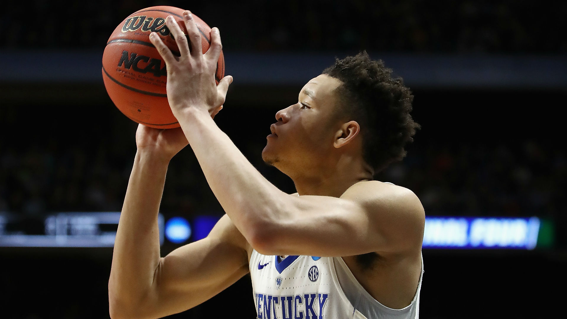 Kevin Knox Leads Kentucky Past Davidson in 2018 NCAA Tournament