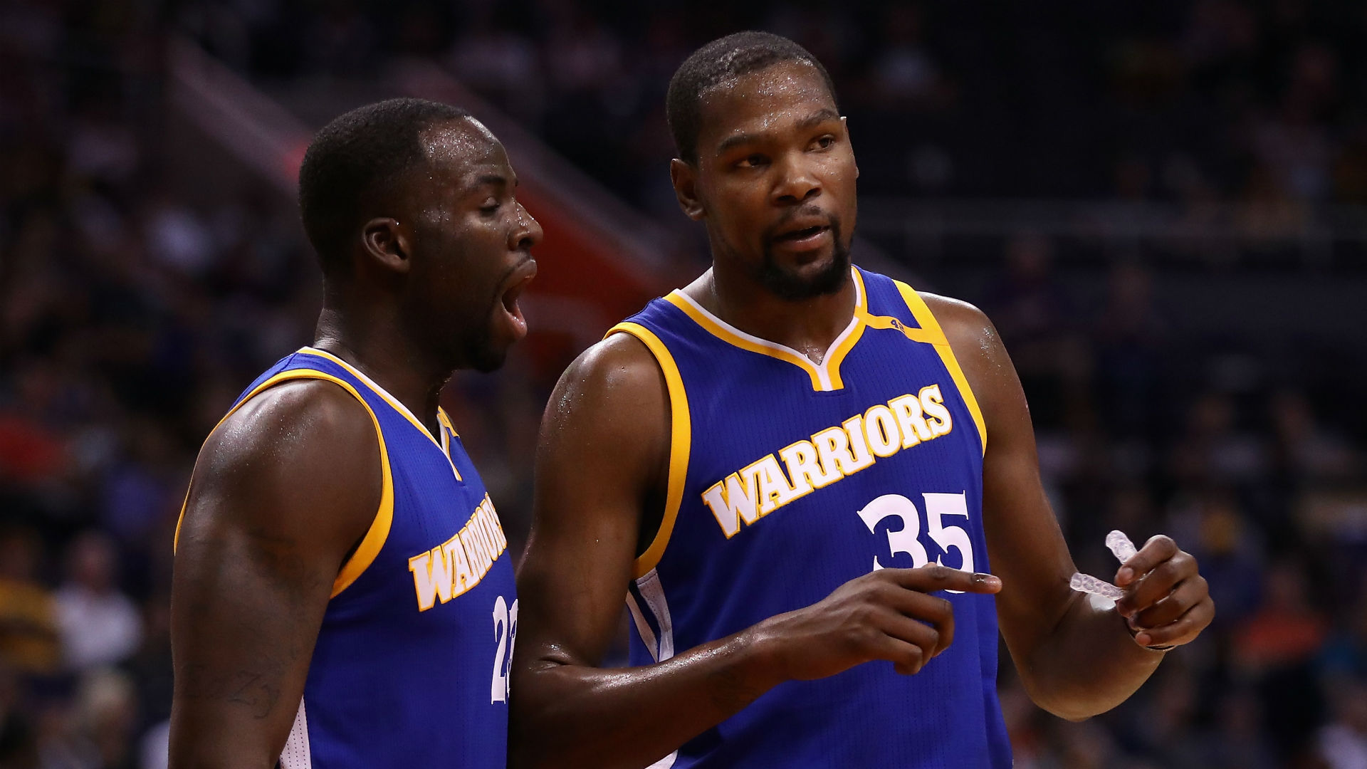 Kevin durant thinks his meme with draymond green is hilarious nba sporting news