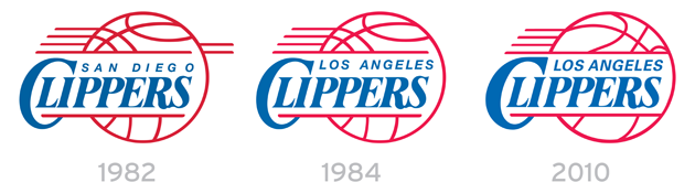 how the clippers logo evolved from buffalo to san diego to los