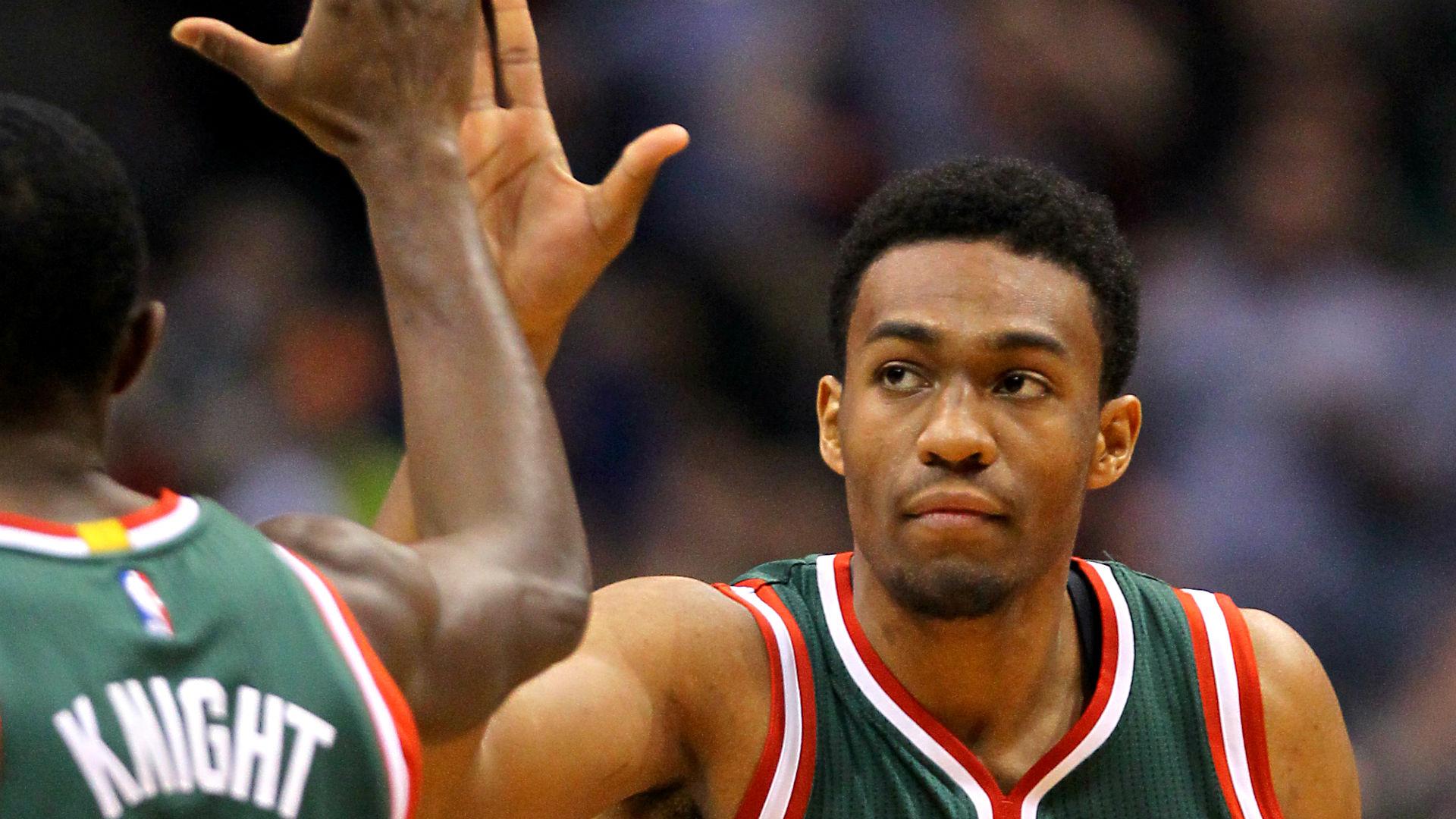 NBA | Jabari Parker shows Milwaukee crowd flash of why ... Jabari Parker Lakers