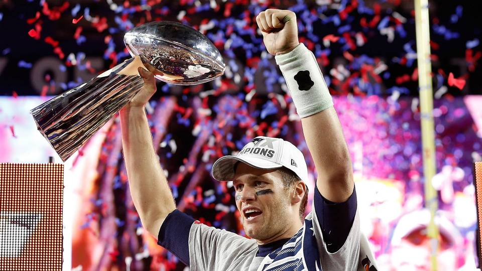e44b5c266 A look at the Patriots  Super Bowl rings through the years