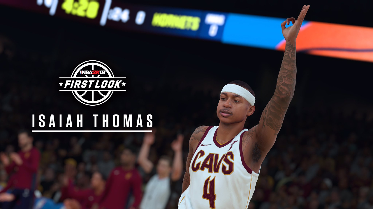 NBA 2K18 Isaiah Thomas Cleveland Cavaliers