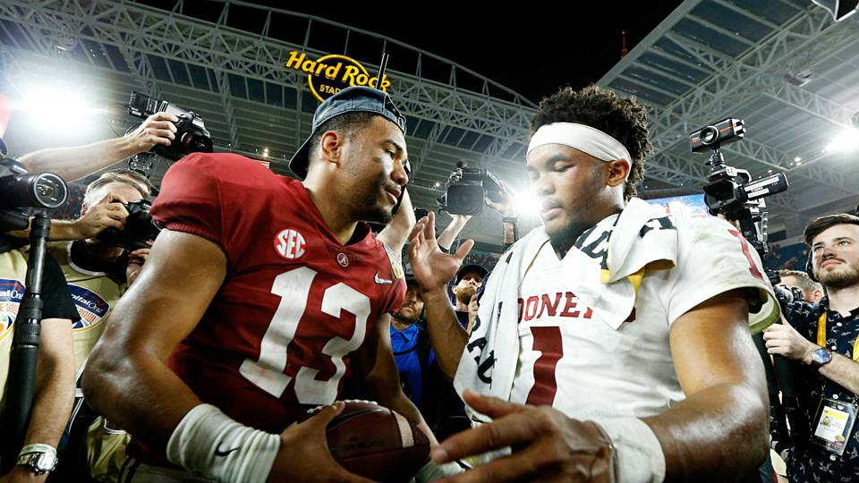 Tua Tagovailoa-Kyler Murray-123018-GETTY-FTR