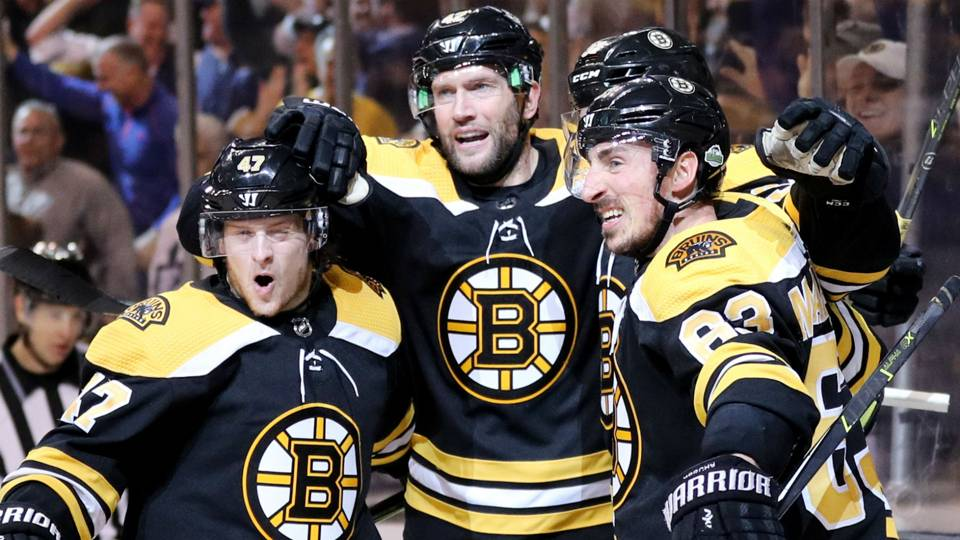 NHL playoffs 2018  Bruins finish off Maple Leafs in back-and-forth Game 7 ca7a43ff8