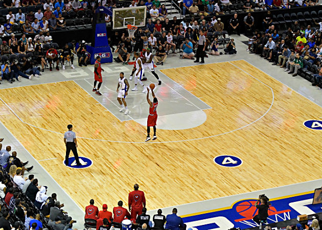 7 easy ways to improve at basketball with pictures all for How big is a basketball court