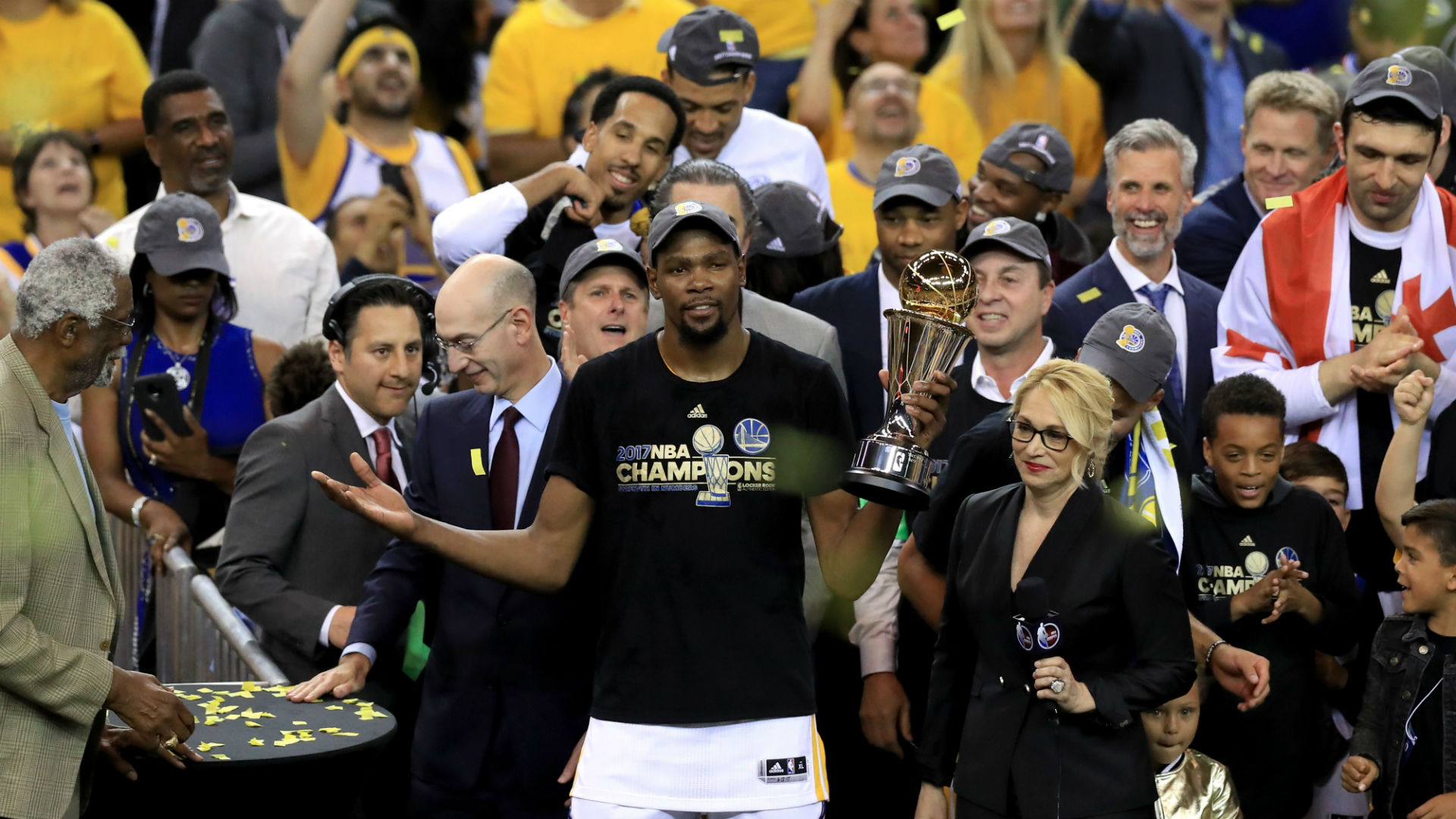 Kevin Durant to release 'Still KD' documentary chronicling path to National Basketball Association title