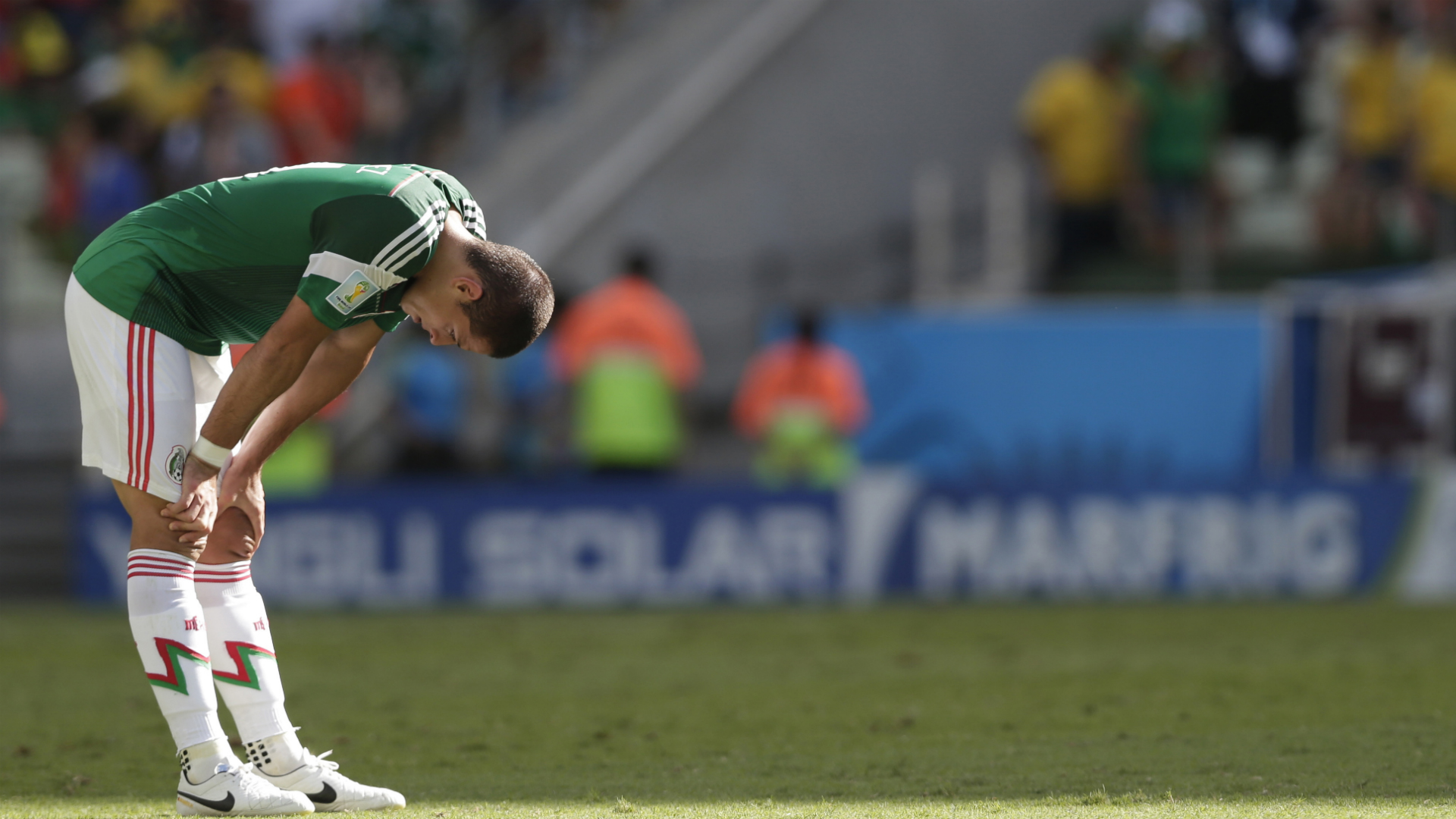 Mexico's Javier Hernandez will miss Gold Cup with fractured collarbone