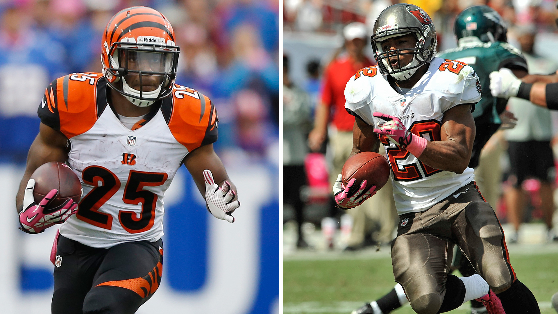 The Decider: Gio Bernard vs. Doug Martin