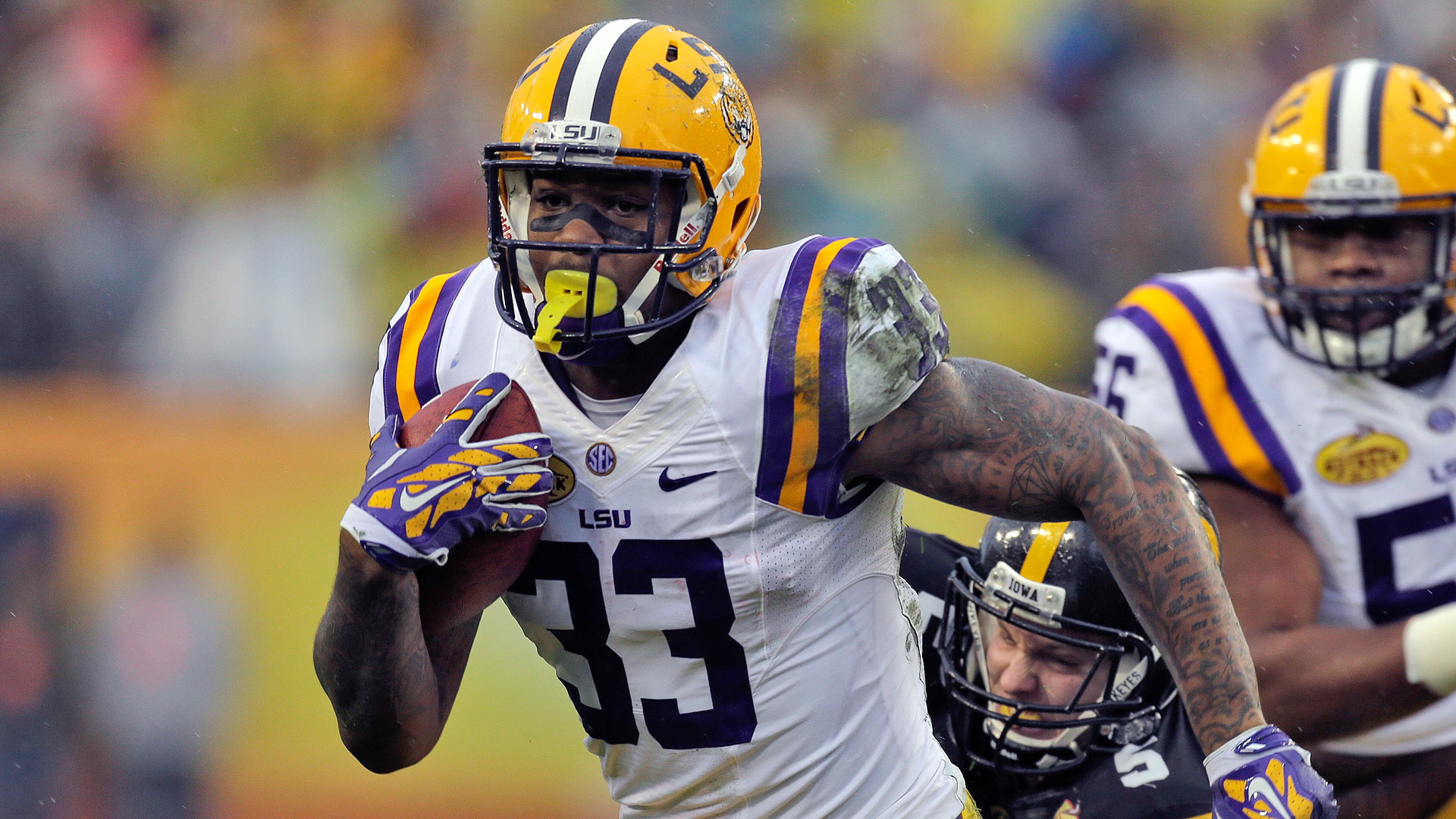 2014 NFL Draft -- Bengals select Jeremy Hill in second round
