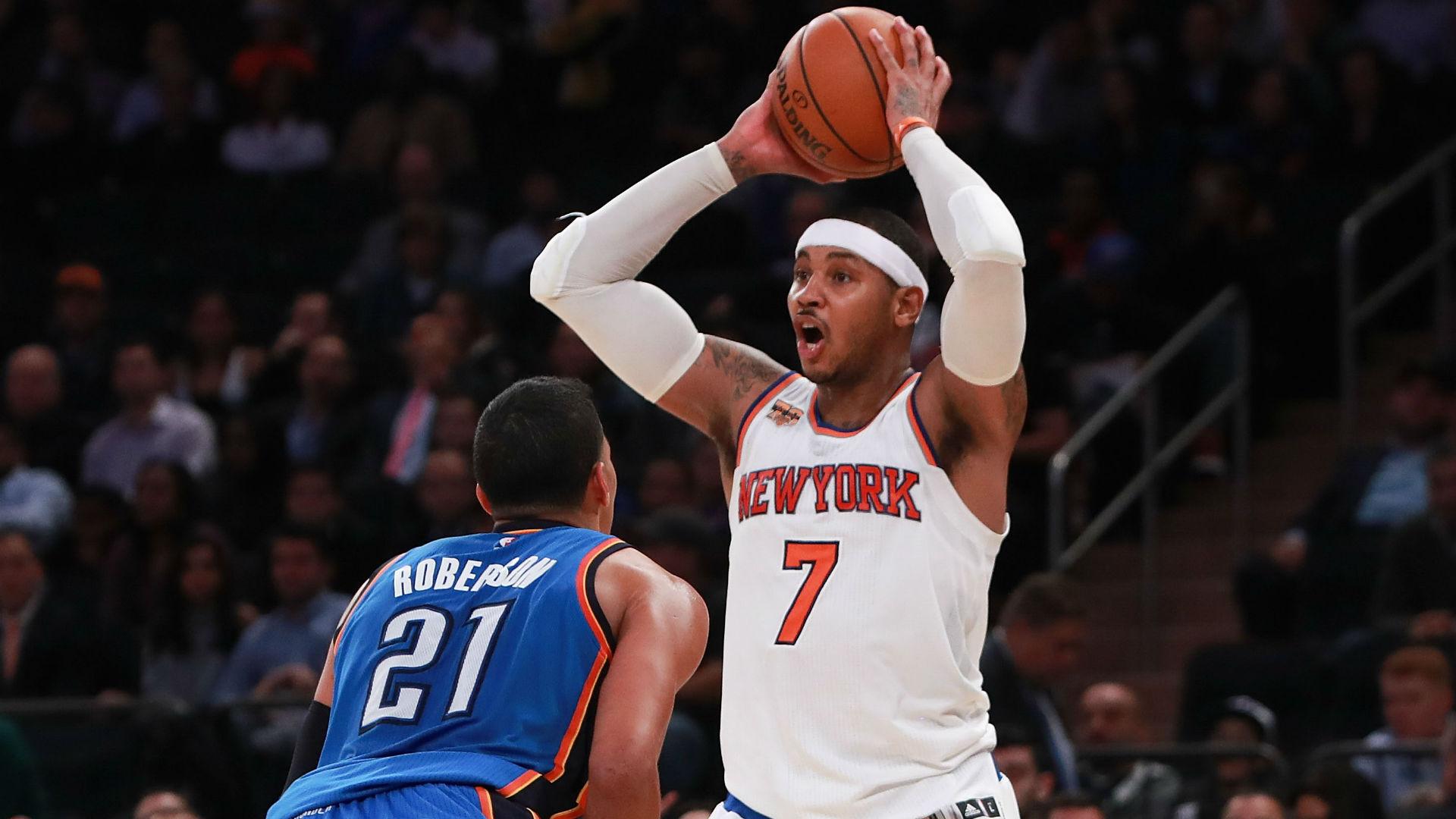 NBA trade rumors: Carmelo Anthony, Thunder may have mutual ...