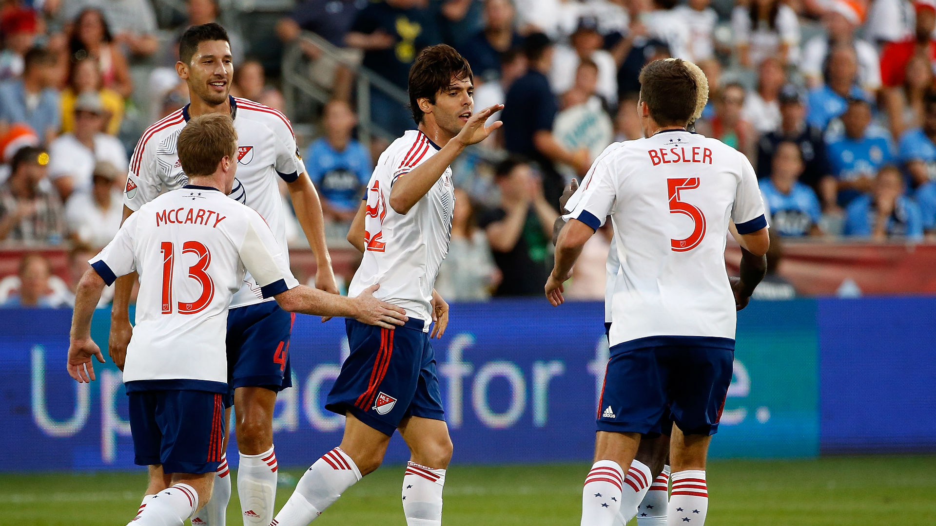 Kaka shines brightest for MLS All-Stars in win over Tottenham