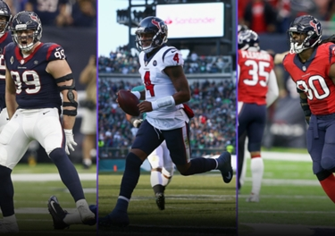 abe40349668 The Texans would rank worse than 27th if not for their badass helmets. And  really, Houston's uniforms are simple enough not to be ugly. They're just a  ...