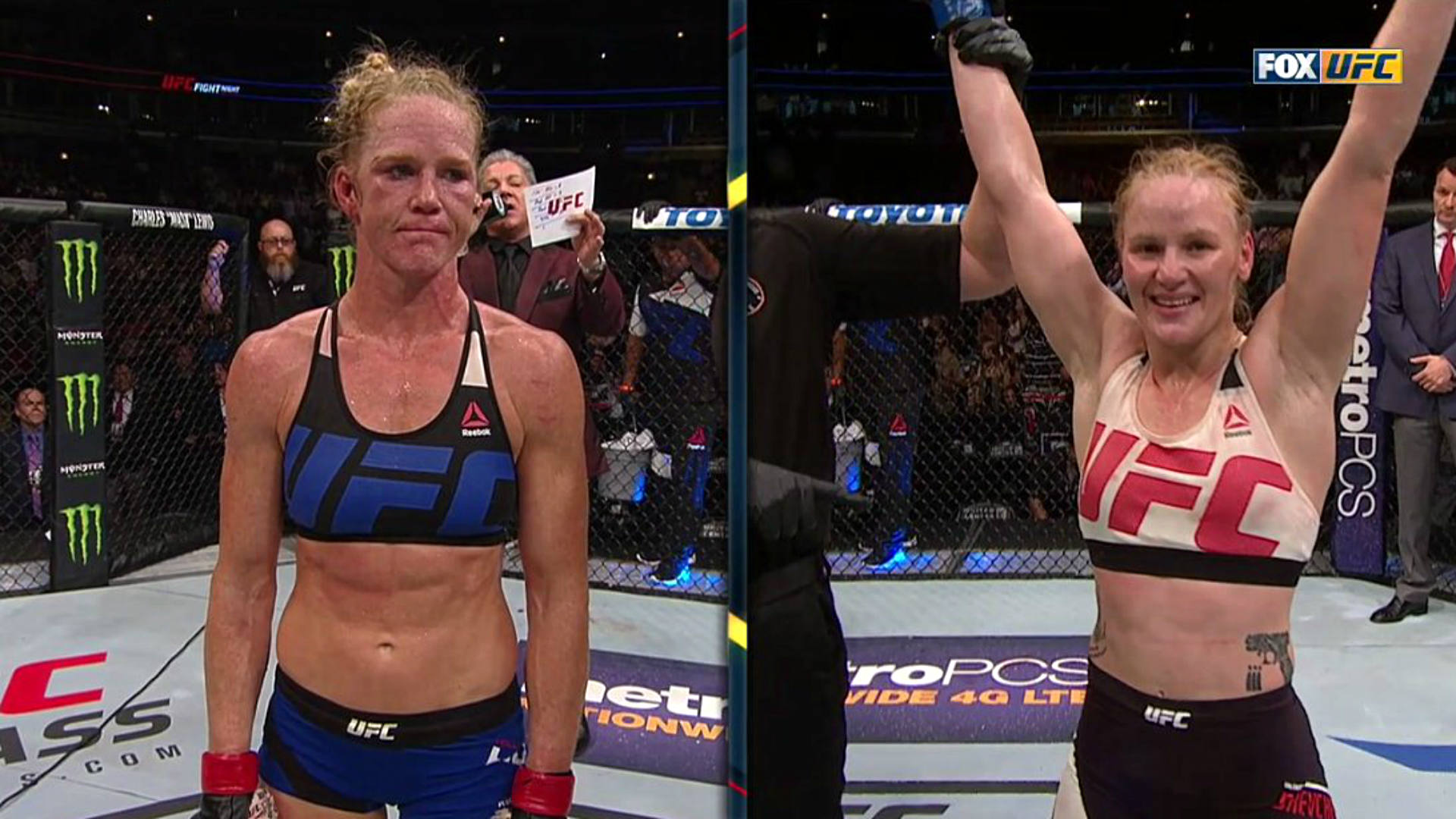 naked Holly holm