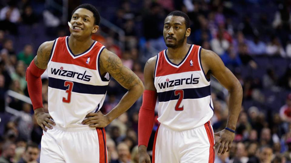 0dcd2d9688c Bradley Beal gets his huge contract  now he needs to follow John Wall s  lead · NBA
