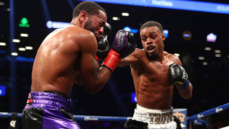 Errol Spence defeats Lamont Peterson