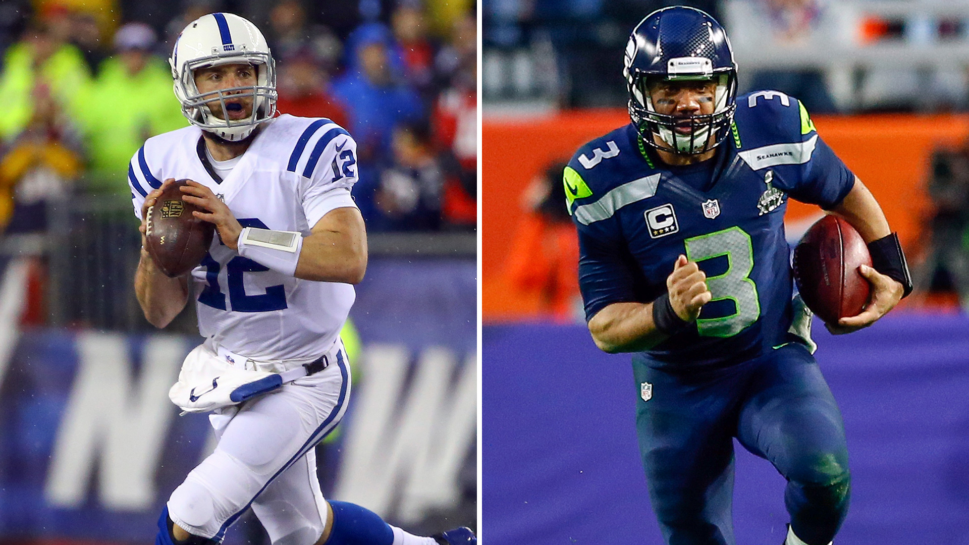 Who's worth more, Russell Wilson or Andrew Luck?