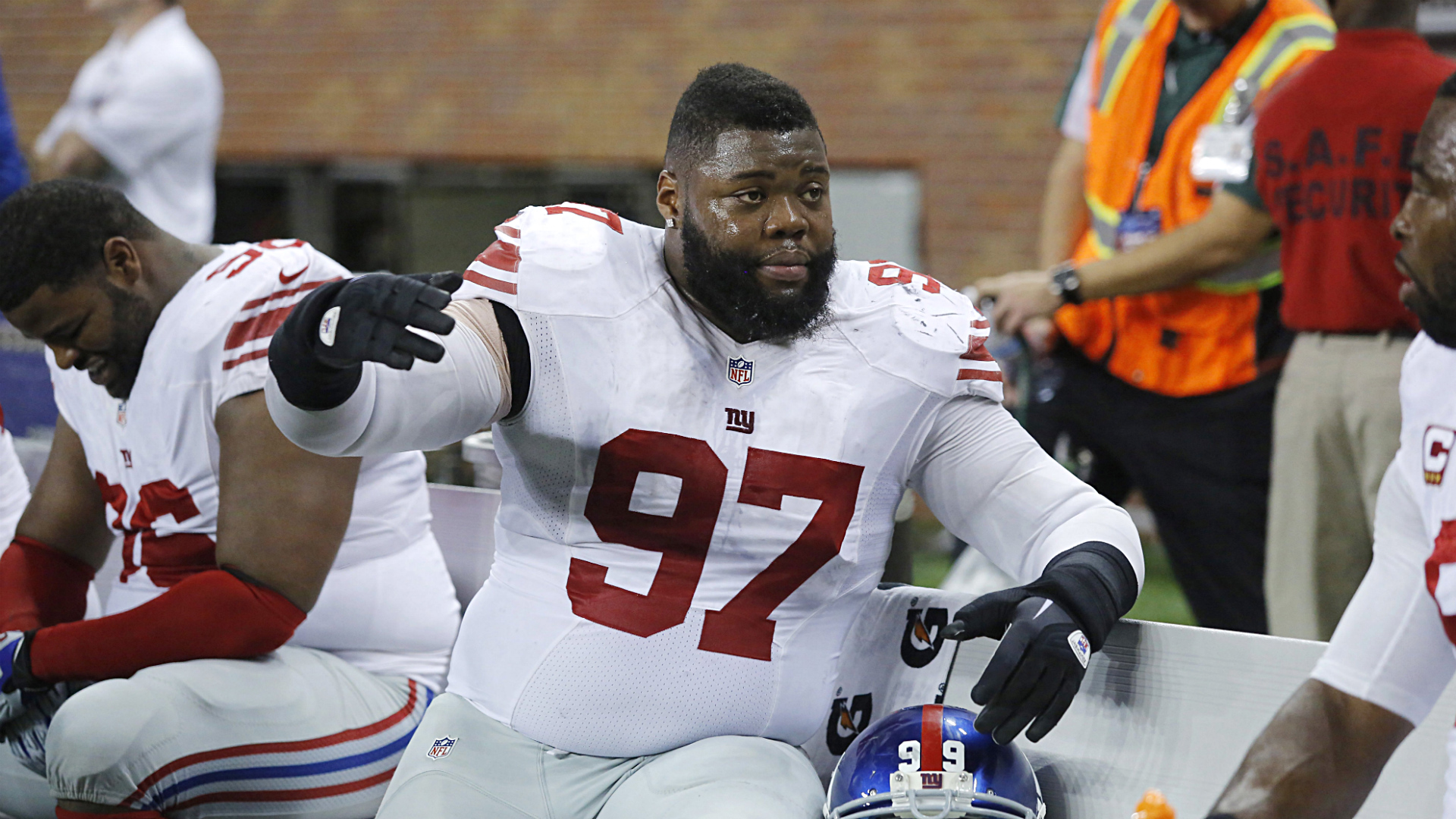 Monster nose tackle Linval Joseph signs with Vikings
