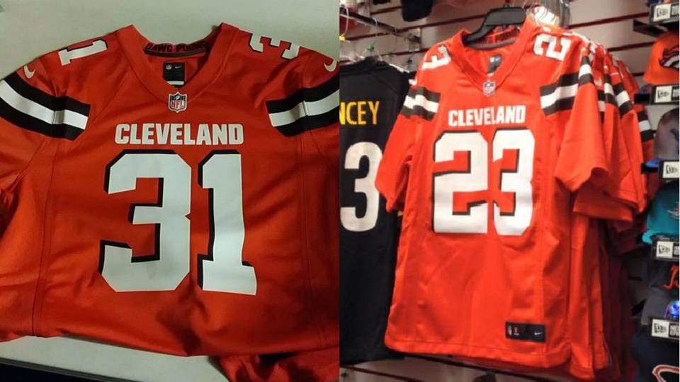 1c681c679 New Browns uniforms reportedly leak ahead of official unveiling ...