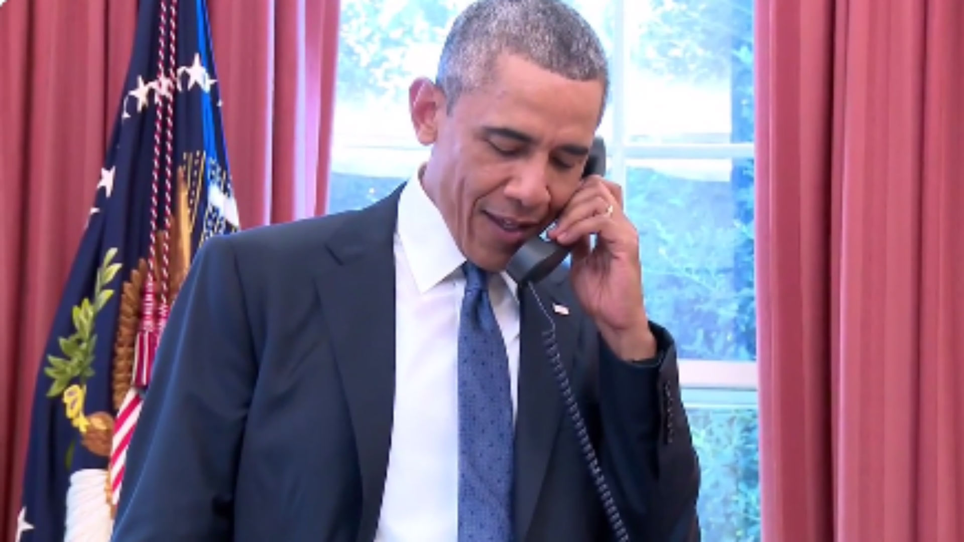 Listen in on Barack Obama's call to the U.S. Women's National Team after its World Cup win