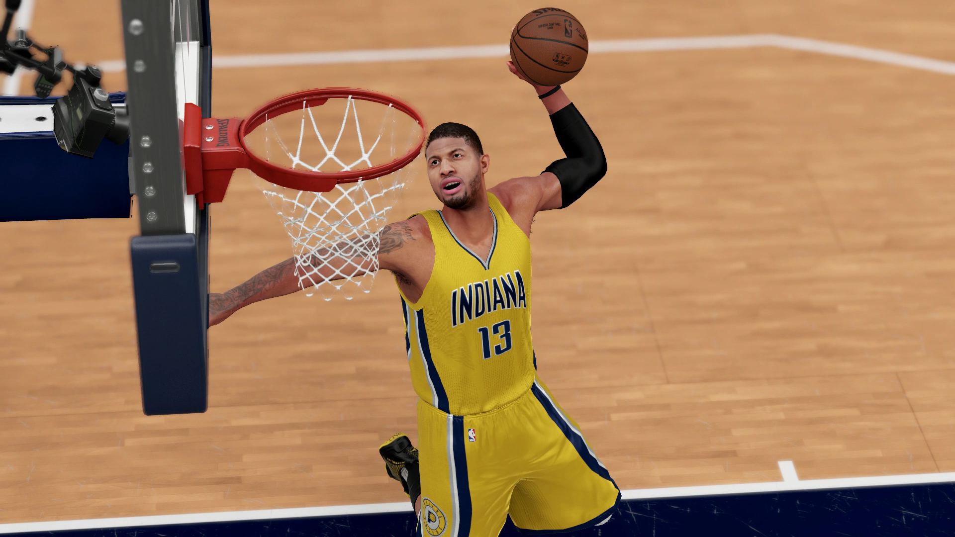 NBA 2K17 cover to feature Pacers' Paul George