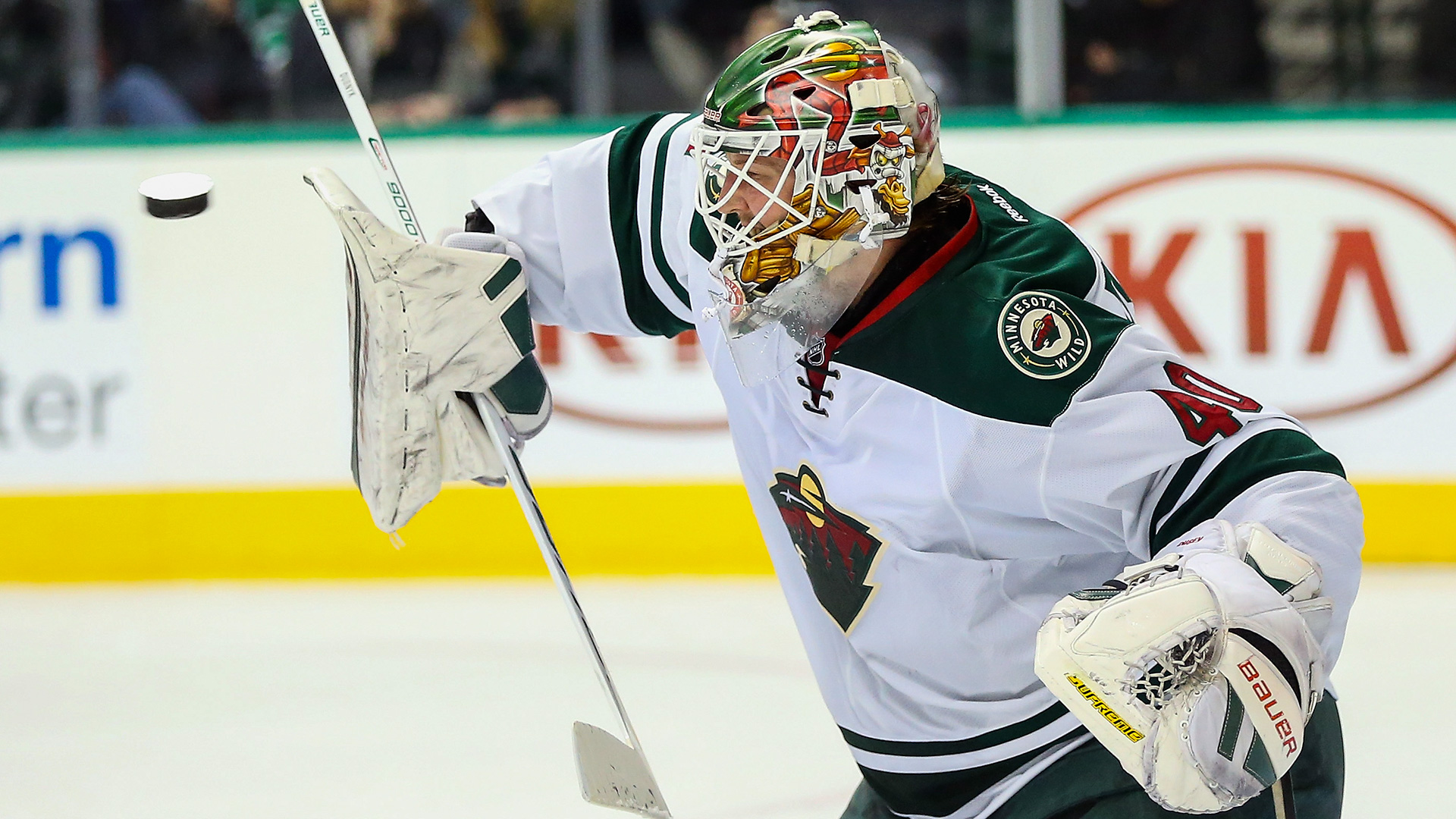 Granlund's second 3-goal game leads Wild past Predators 4-2