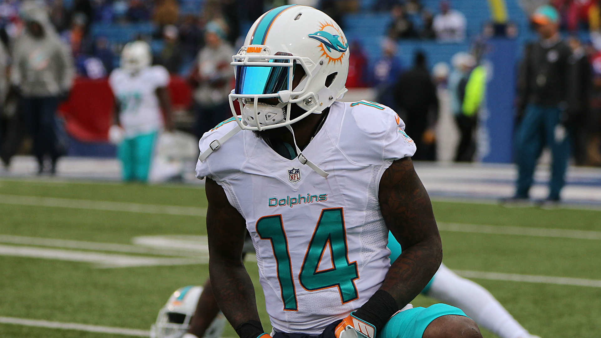 Woman defends Dolphins' Landry in battery case