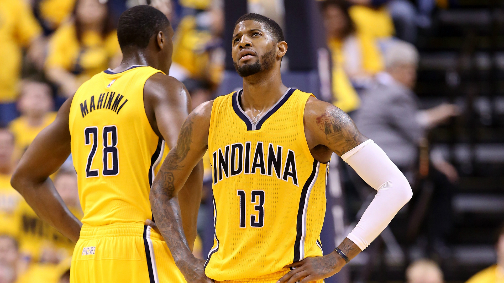Paul George: Paul George Deserves More From His Pacers Teammates