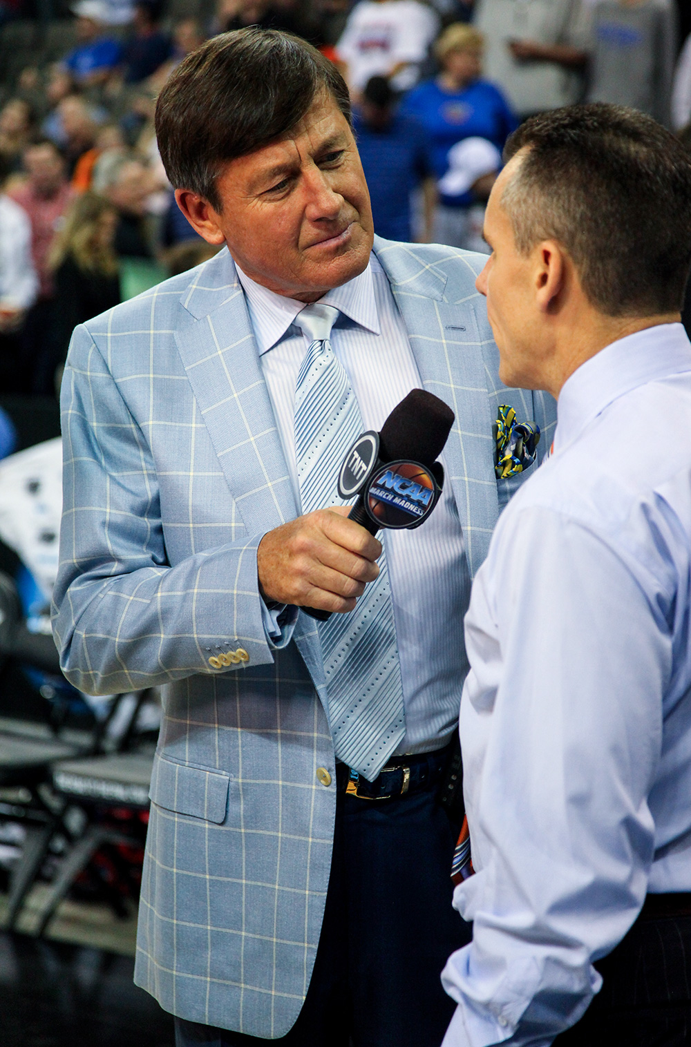 Craig Sager with Billy Donovan