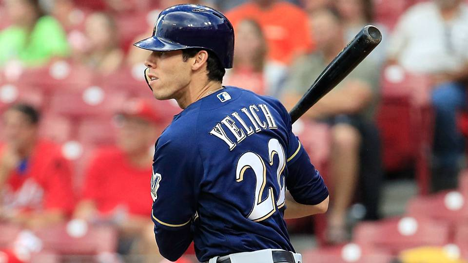 Christian Yelich rides to Brewers' rescue on cycle, keeps ... Christian Yelich
