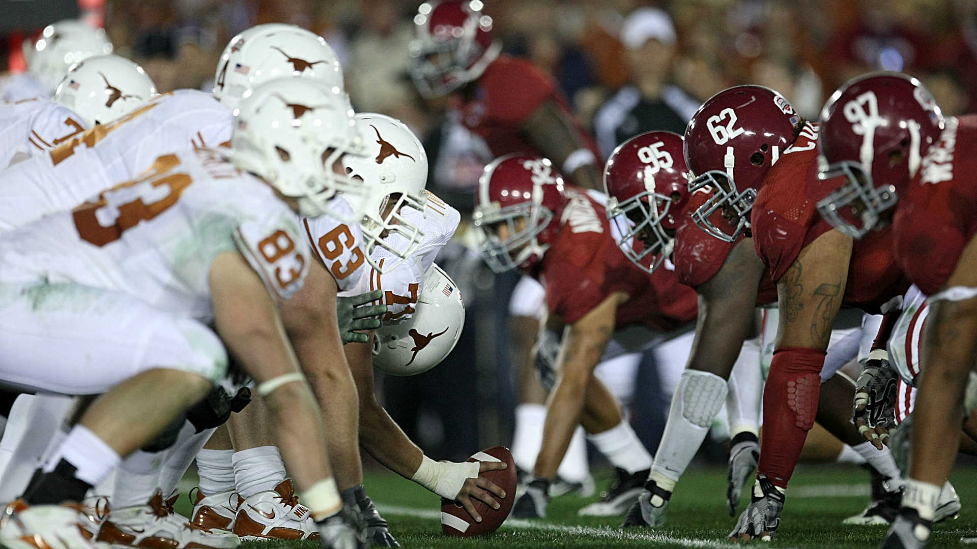 Texas, Alabama Football Teams Schedule Home & Home Series