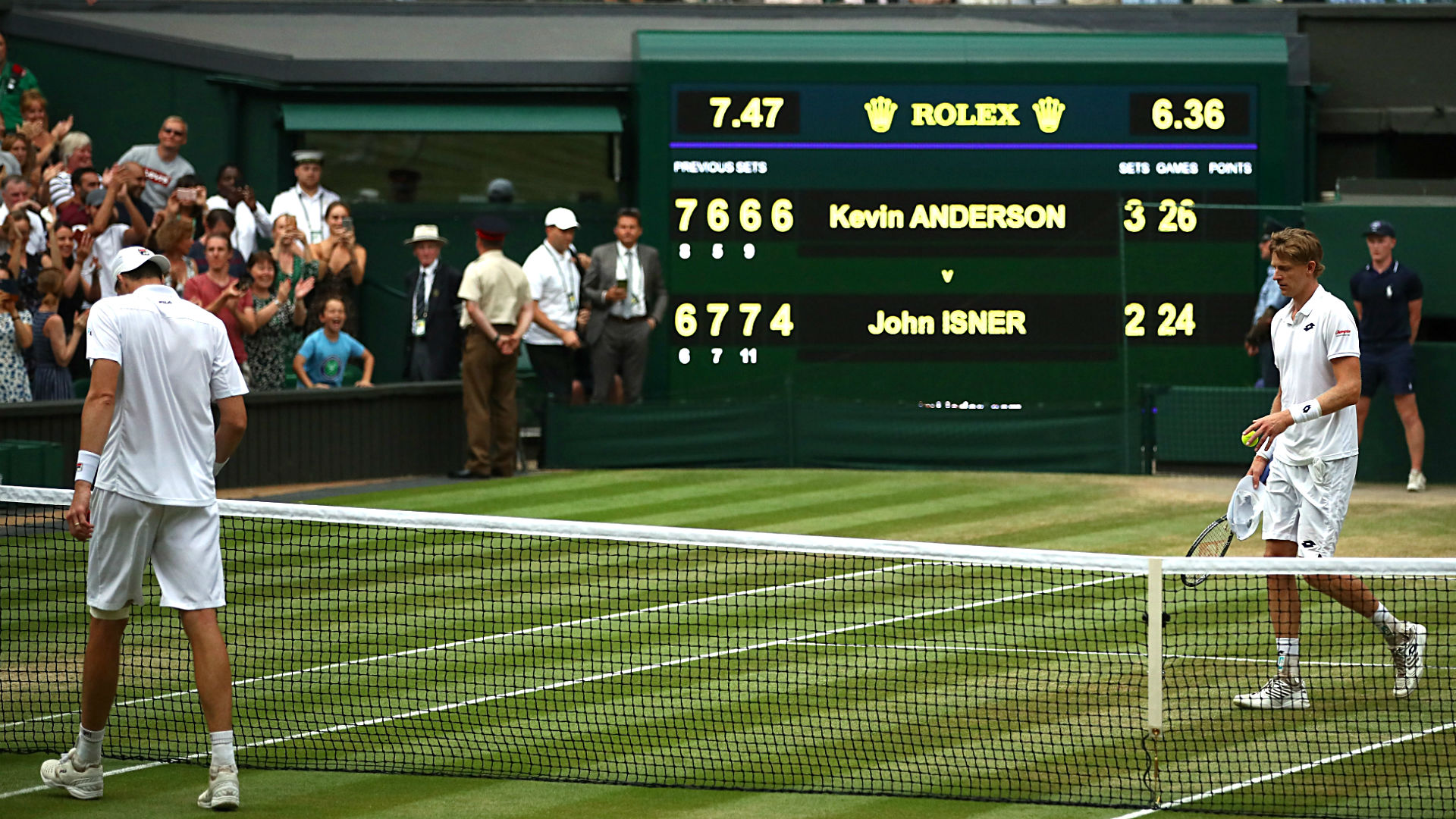 Wimbledon 2018: Kevin Anderson blasts fifth-set rule after 6 1/2-hour victory over John Isner