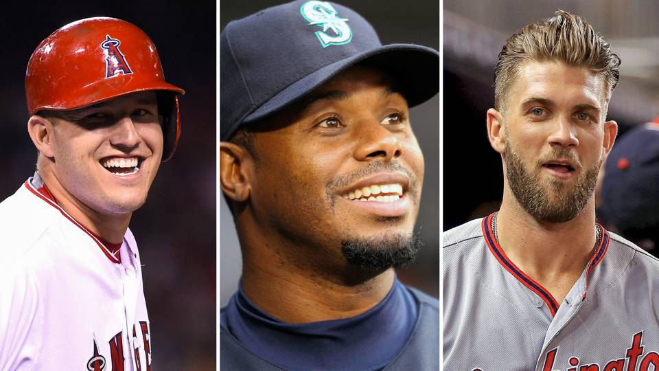 Ken Griffey Jr-Mike Trout-Bryce Harper-102716-GETTY-FTR.jpg