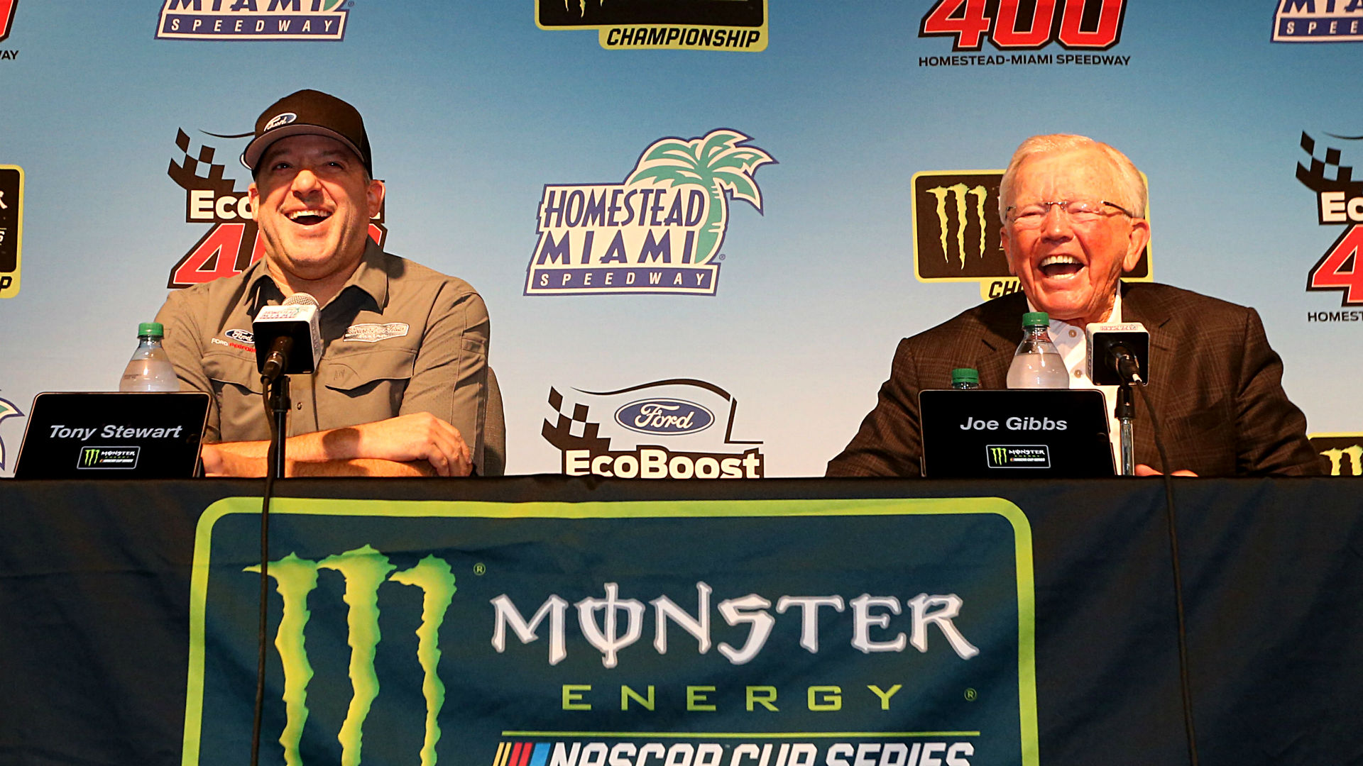 Championship 4 owners Tony Stewart, Joe Gibbs share long-standing connection