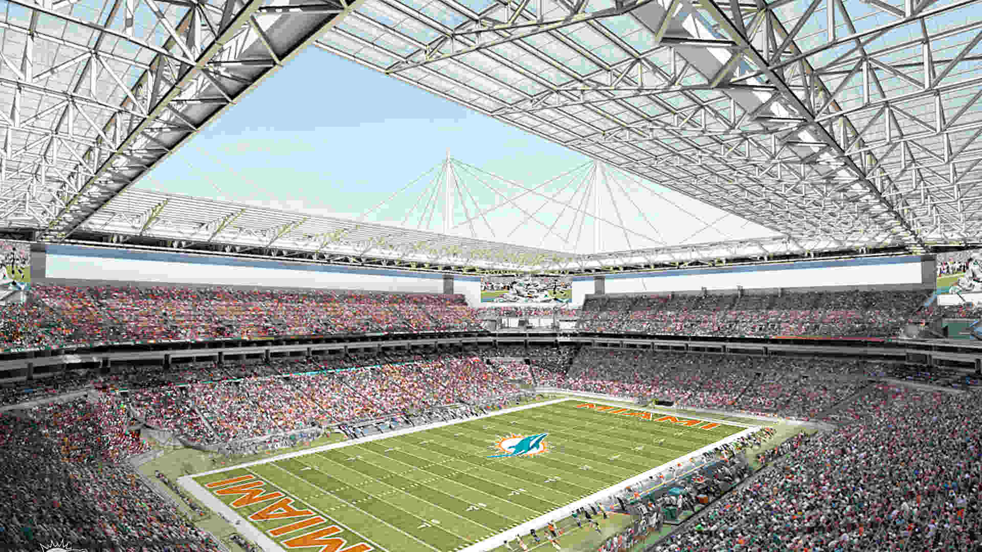 Stadiums Head For Cover To Improve Fan Experience Nfl