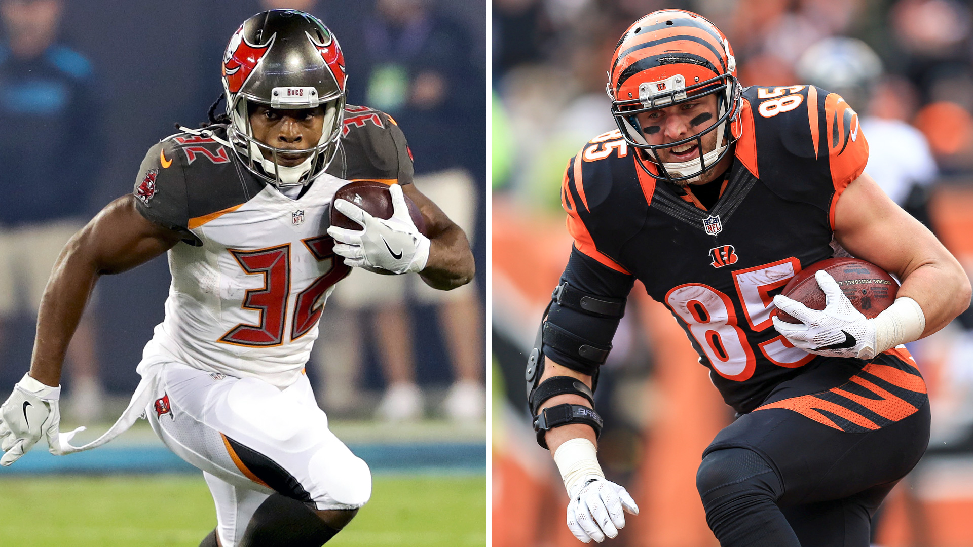 Week 7 Fantasy Sleepers Tyler Eifert Jacquizz Rodgers have