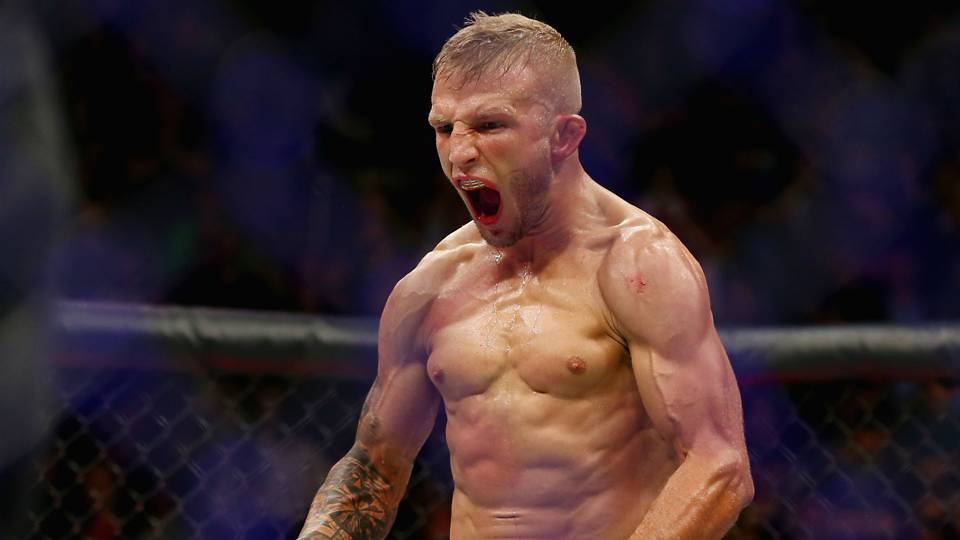 UFC 227: TJ Dillashaw blames the entertainment business on Cody Garbrandt receiving an immediate rematch