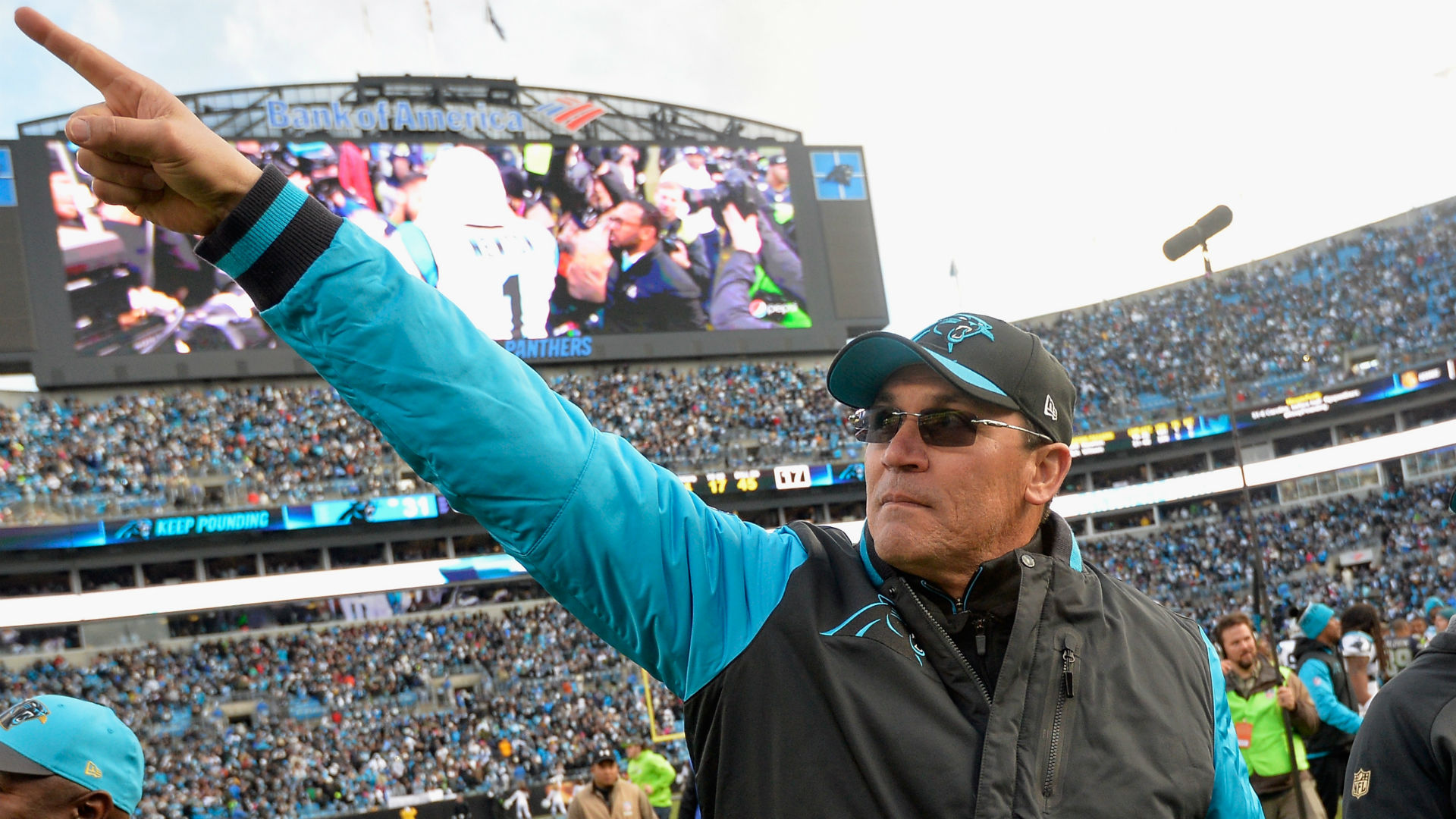 National Football League takes over probe into misconduct claims against Panthers owner