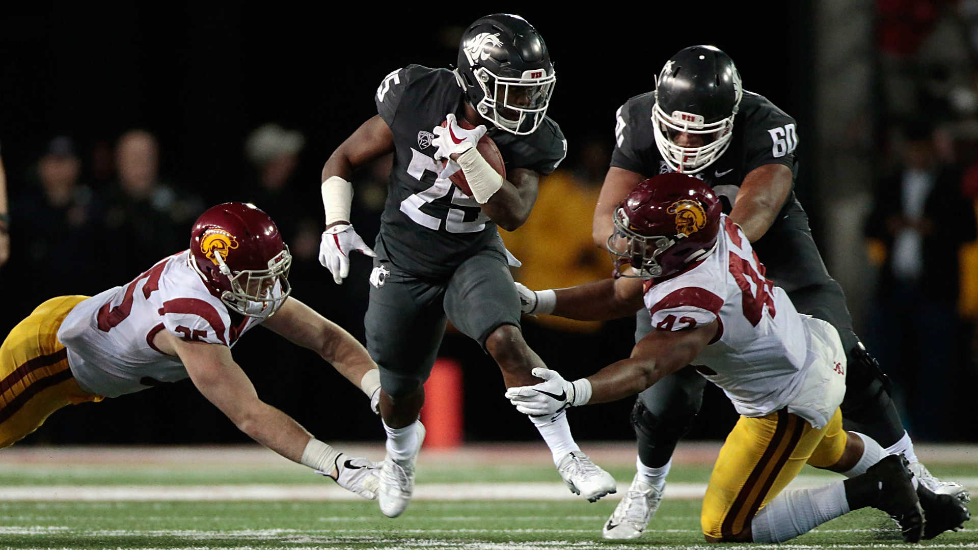 Pullman Party: No. 16 Washington State beats No. 5 USC 30-27