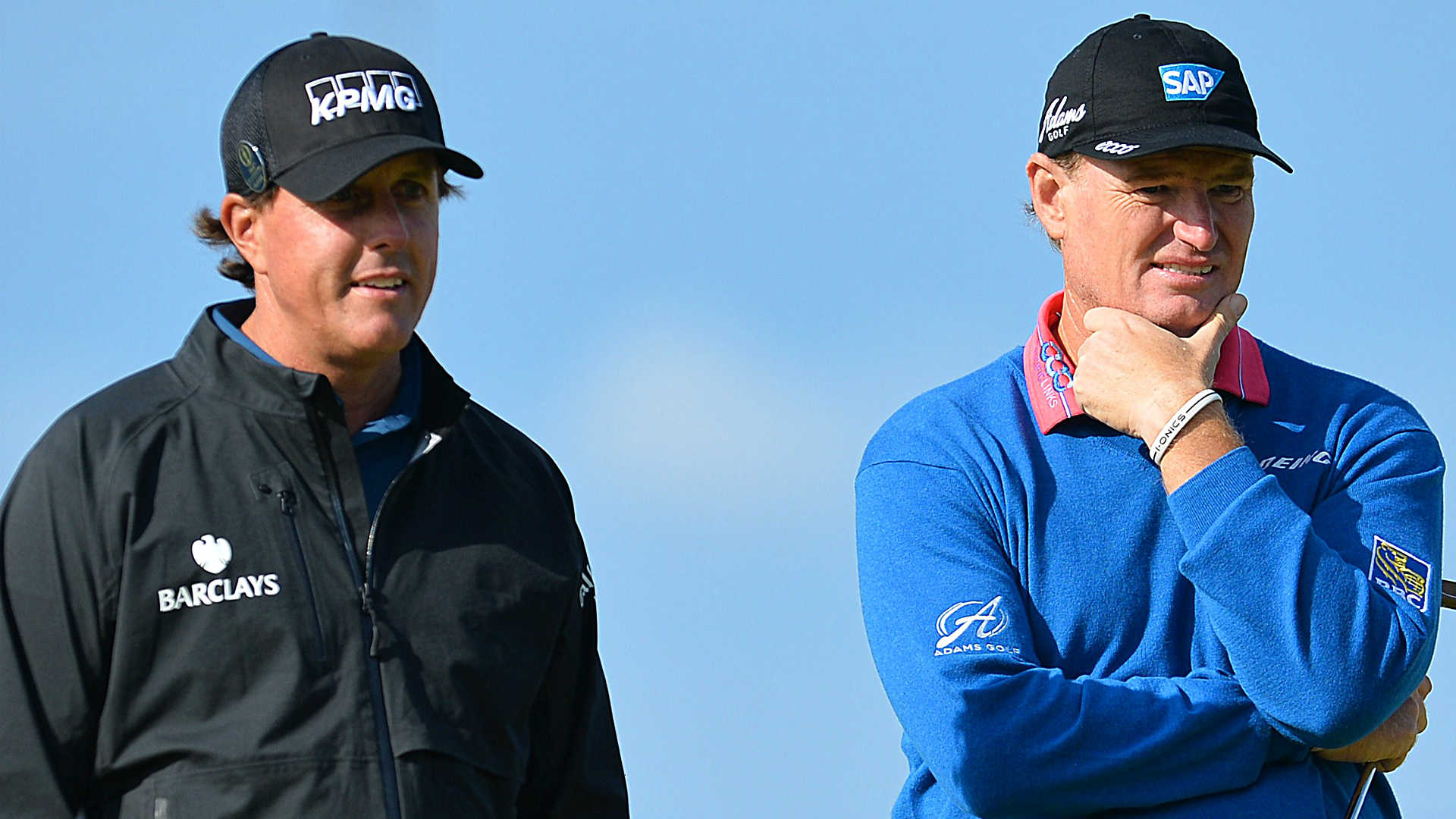 Phil Mickelson and Ernie Els hit major century milestone at PGA Championship