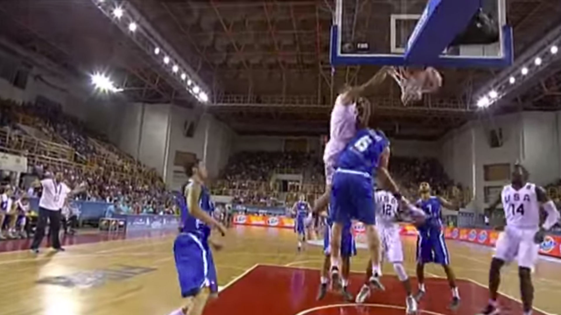 Jayson Tatum dunks all over Greek defender at FIBA World Championships