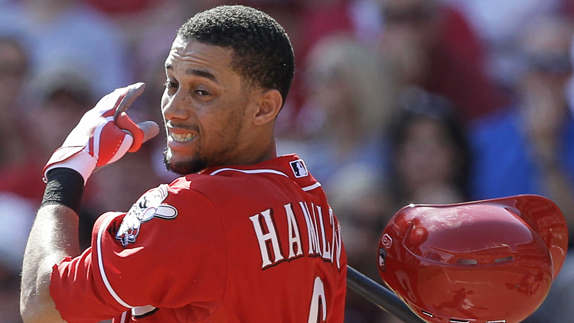 Fantasy baseball sleepers: Hamilton meets need for speed, but bat must follow