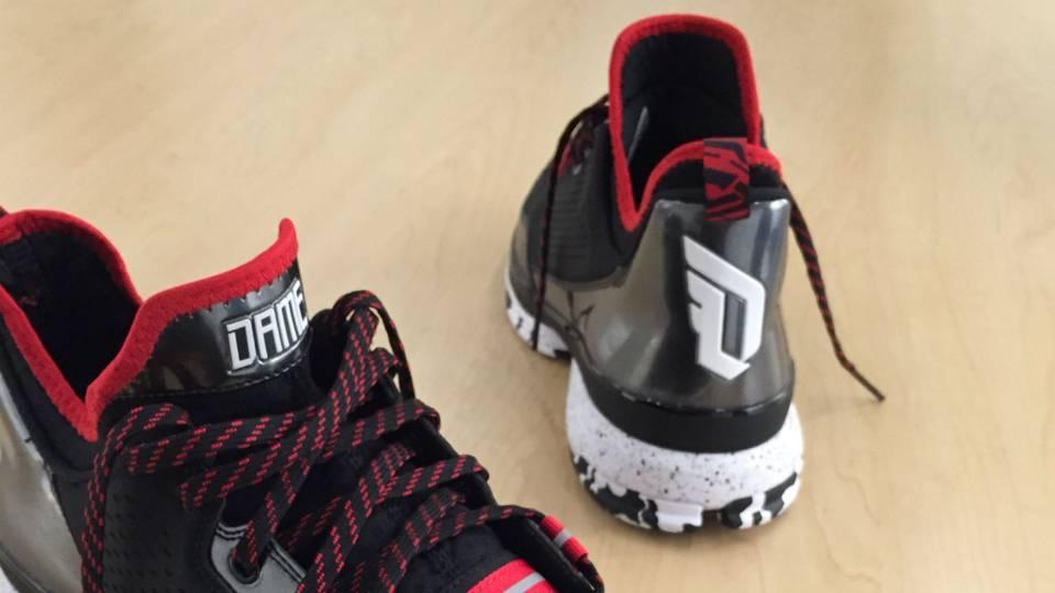 sale retailer 37ce0 54405 Damian Lillard unveils new signature shoe on Instagram