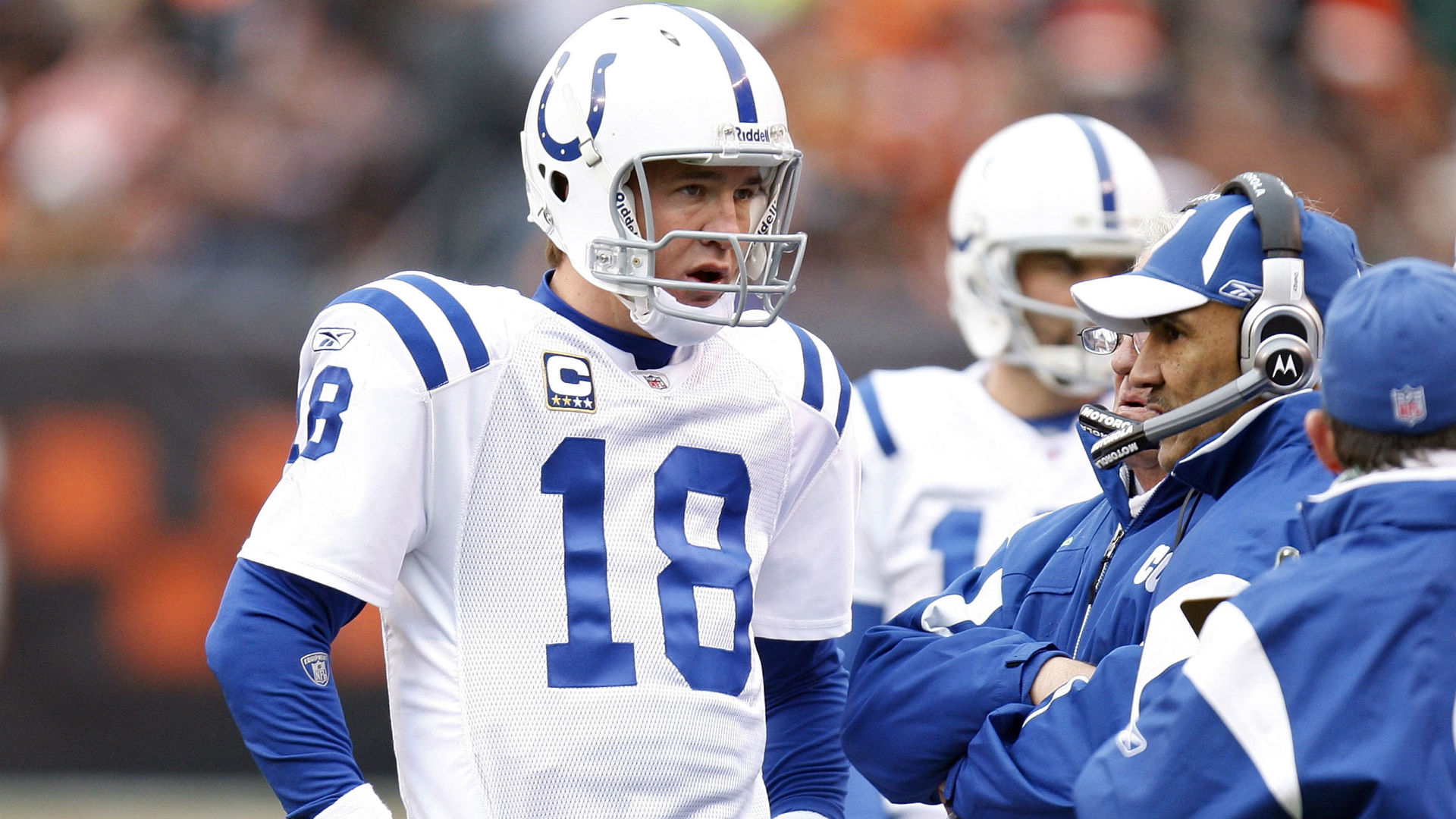 08202015 Peyton Manning Tony Dungy FTR