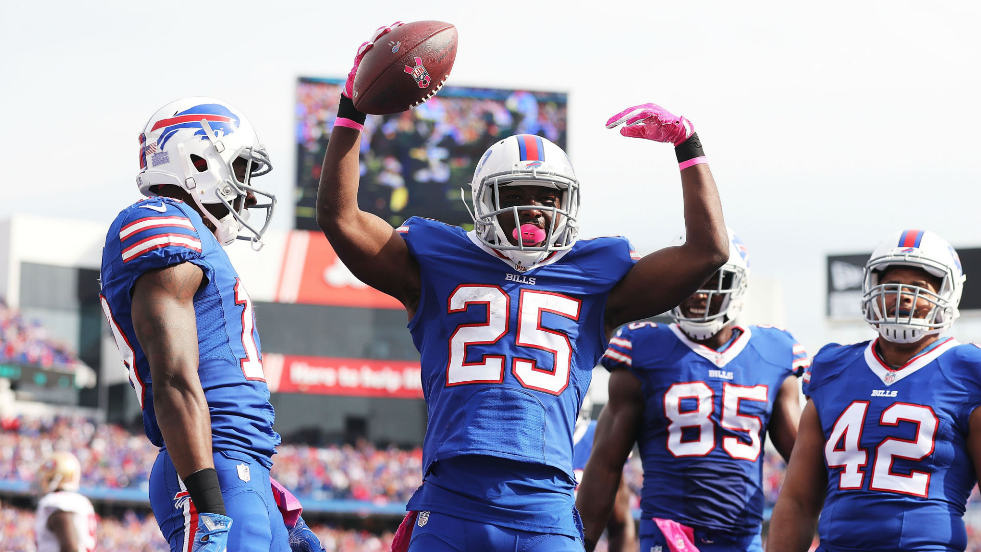 LeSean McCoy scares Bills fans with Buffalo was so special tweet