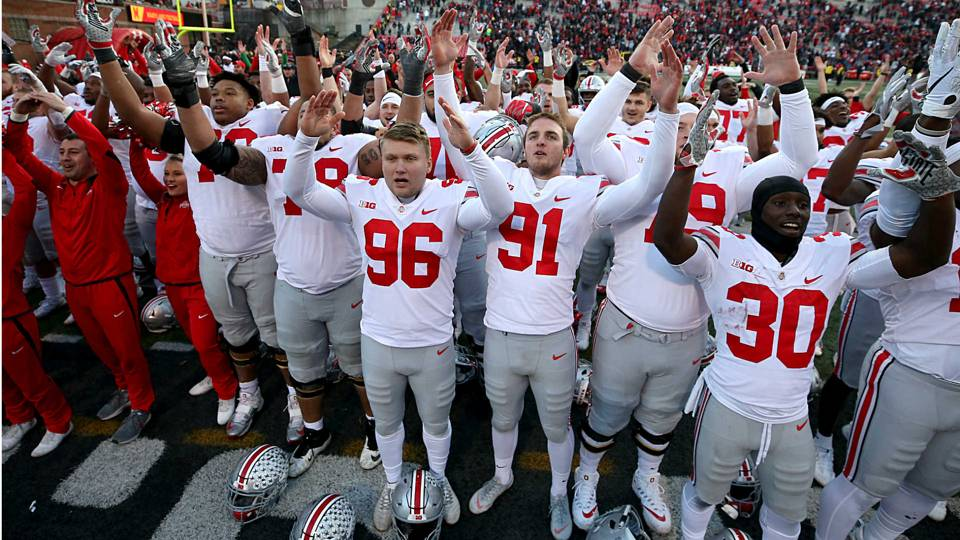 history shows not to count ohio state out of college football
