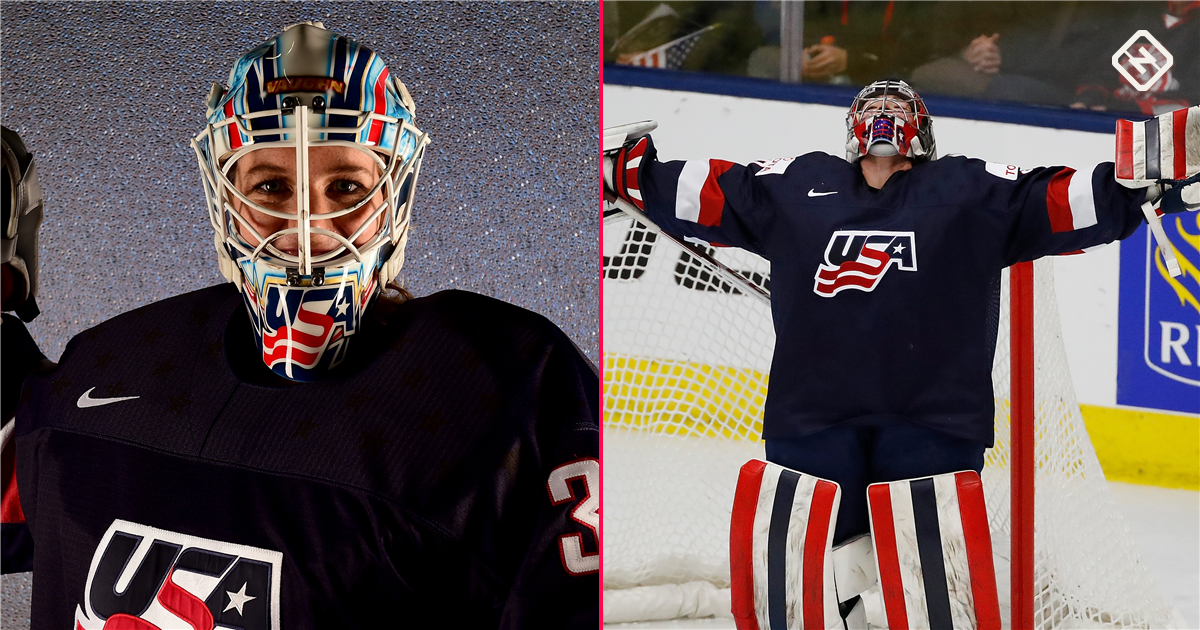 9ead1e90d27 Changing of the guard  Team USA s young goalie trio leads the way to 2018  Olympics
