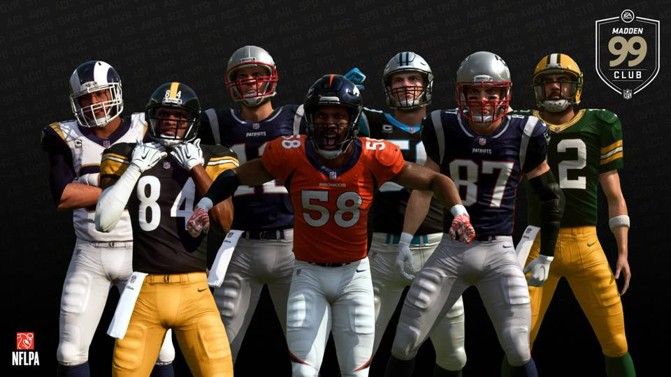'Madden NFL 19' ratings: Seven players now share coveted 99 Overall
